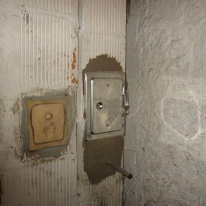 Trappe de vidange à la cave avec purge après scellement